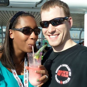 Alex and La - Disney Honeymoon Cruise 2013
