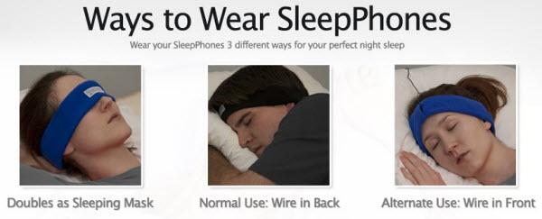 SleepPhones Soft Sleeping Headphones - ad