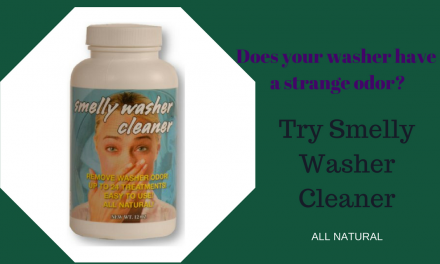 Got a Smelly Washer? Fix it!