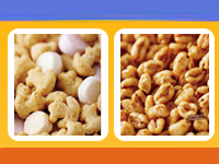 A close look at these yummy cereals!