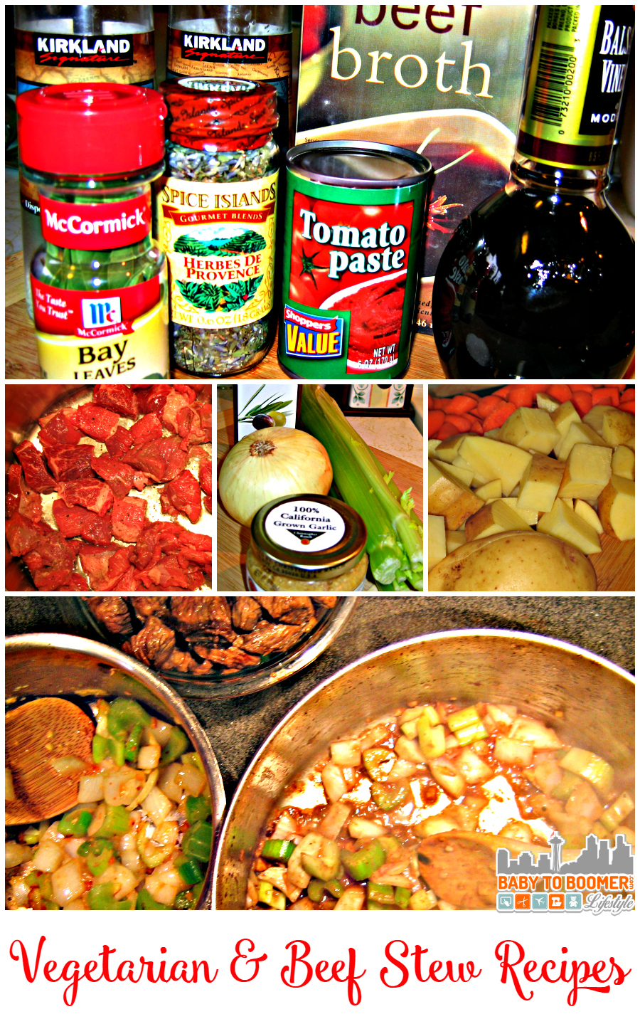 Vegetarian Beef Stew Recipe