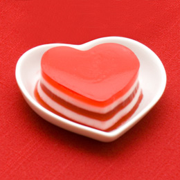 Eat Your Heart Out Valentine's Jello Mold