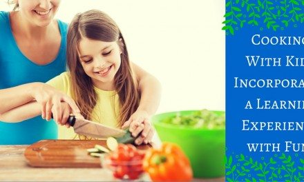 Cooking With Kids Incorporates a Learning Experience with Fun