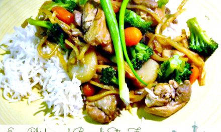 Easty Chicken and Broccoli Stir-Fry Recipe