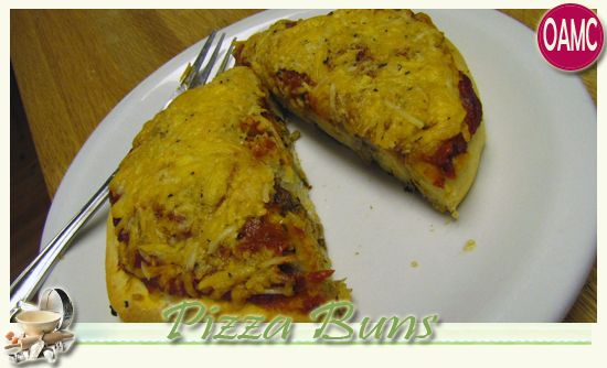 OAMC Pizza Rolls Buns - Homemade Pizza Buns - Breadmaker Recipe