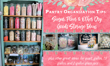 Pantry Organization Tips: Why Glass is Better