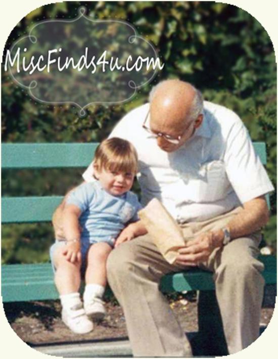 Brian and Grandpa 1986