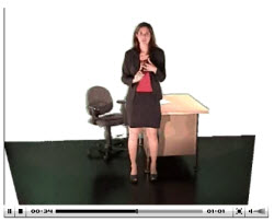 Break Pal videos lead you through 1-4 minute exercises you can do sitting or standing right at your desk