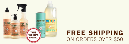Mrs Meyers Fall Stock Up Event - Free Shipping
