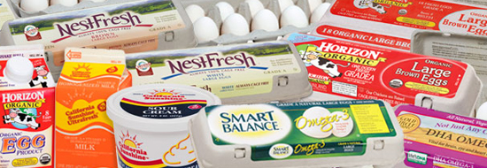 Choose organic, vegetarian-fed, free-range eggs.