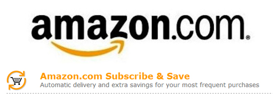 Amazon's Subcribe and Save program saves me money and time