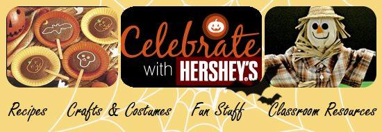Hershey's free Halloween printables