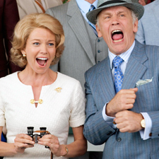 Diane Lane and John Malkovich in Secretariat