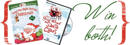 Win two animated classic holiday DVDs from Warner Home Videos and MiscFinds4u.com