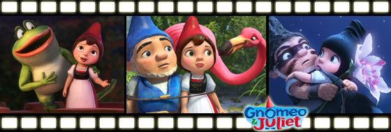 First Looks at the Gnomeo & Juliet film due out February 11, 2011