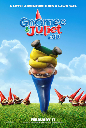 Gnomeo and Juliet One Sheet Advance Poster