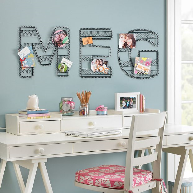 Pottery Barn Kids Initials Wall Decorations