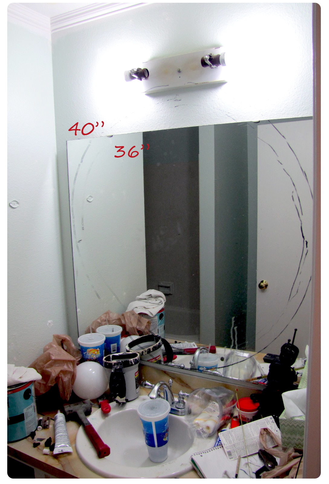 Tips on how to decide on what size mirror to buy