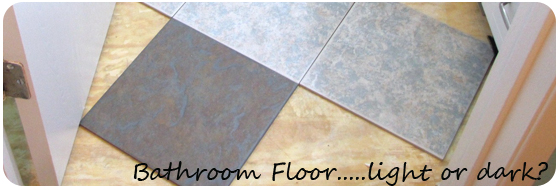 Choosing the right color for your bathroom floor