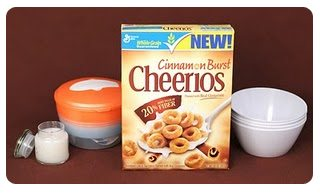Win this Cinnamon Burst Cheerios Prize Pack!