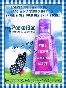 Bath and Body Works Design Contest - win a $500 Shopping Spree