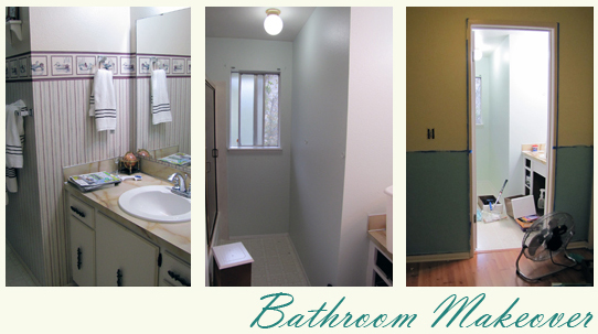 Our Budget Bathroom Makeover