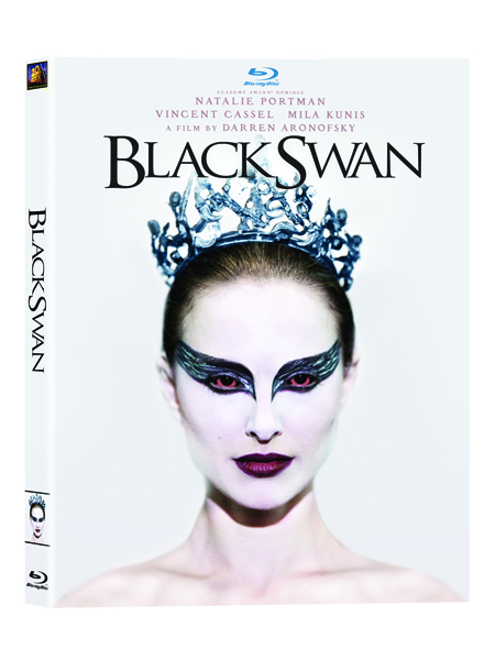Black Swan on DVD and BluRay