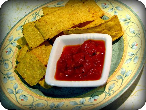 Chips and salsa on a diet? You bet!