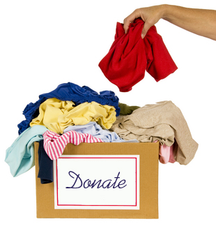 Keep closet clutter at bay - keep a donate box and add to it daily