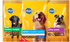 Pedigree pet food