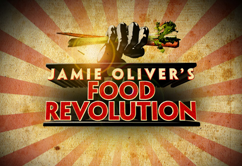 Jamie Oliver's Food Revolution - working to make kids and their families healthier
