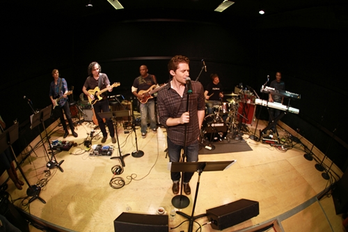 Matthew Morrison Rehearsal Photo