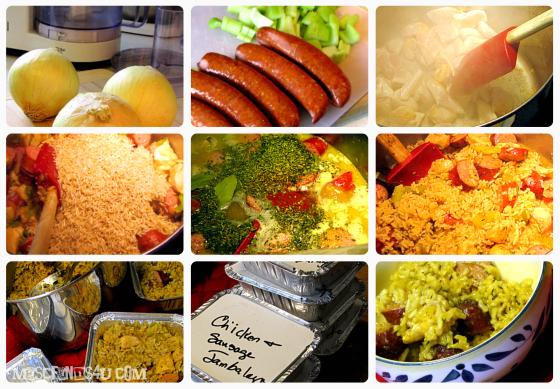 Mild Chicken and Sausage Jambalaya Recipe