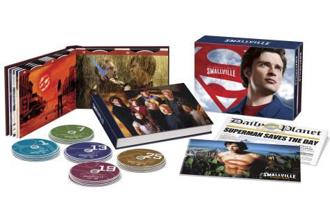 Smallville on DVD - all 10 seasons