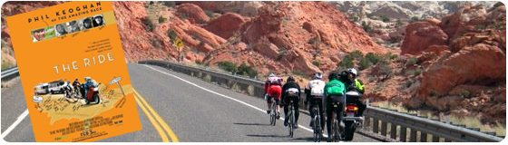 """Phil Keoghan """"The Ride"""" Documentary online and in theaters winter spring 2011"""