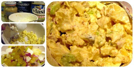Potato Salad for One Recipe - 14 Weight Watchers PointPlus