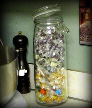 My Weight Watchers Approved Candy Jar
