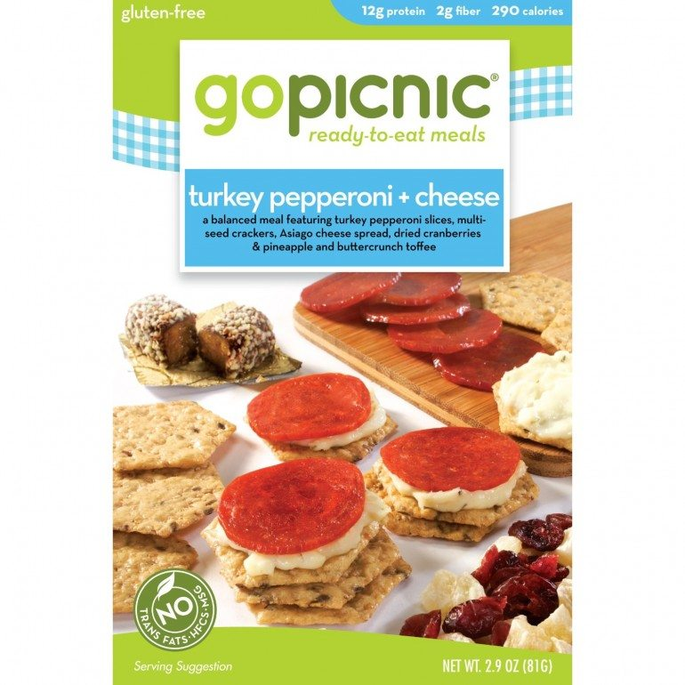 GoPicnic - healthy choices for a quick takeaway or packable lunch - a healthy alternative to Lunchables