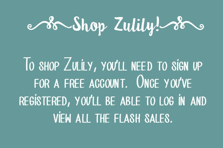 Zulily – Deals of the Day up to 70% Off Retail for Kids and Mom