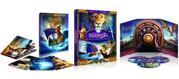 The Chronicles of Narnia: Voyage of the Dawn Treader on DVD and Blu-ray