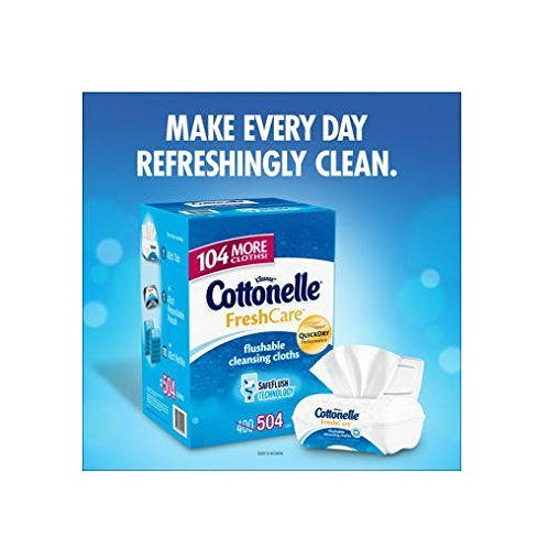 Cottonelle Flushable Moist Wipes –  Get Fresh with a Friend!