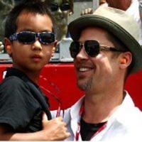 Brad & Maddox Pitt