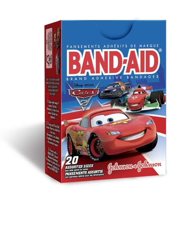 Johnson & Johnson Band-Aid Brand bandaids - Cars