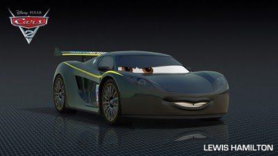 Lewis Hamilton Cars 2