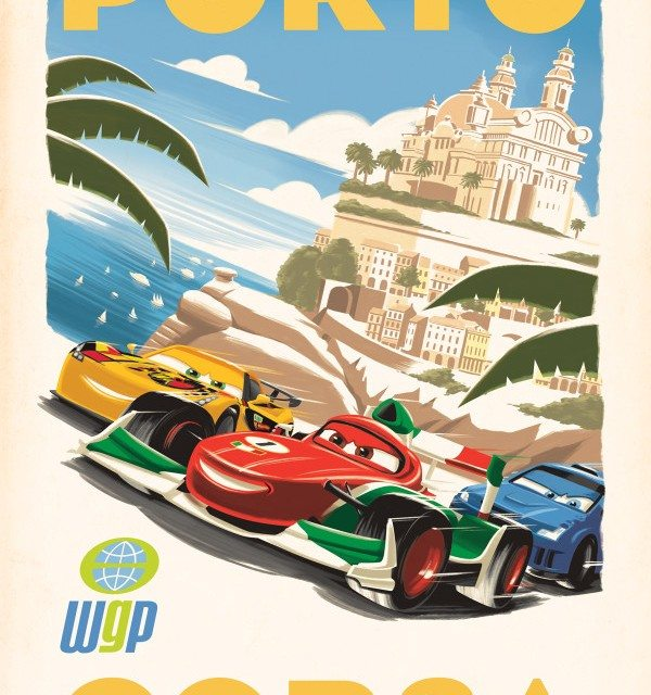 Around the World with Disney/Pixar Cars 2: Porto Corso, Italy