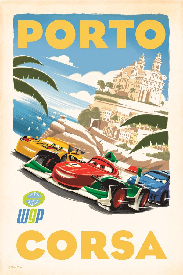 Cars 2 Italy Poster