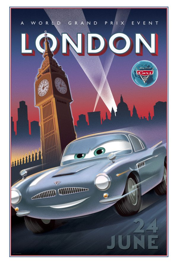 Cars 2 London Location