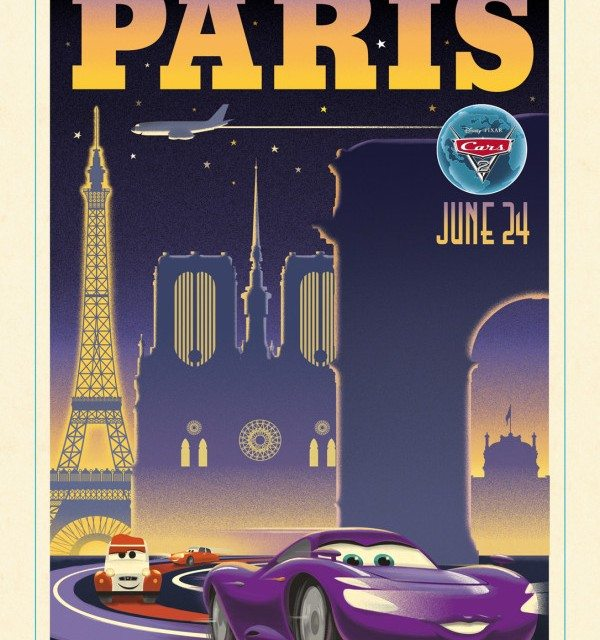 Around the World with Disney/Pixar Cars 2 – Paris, France