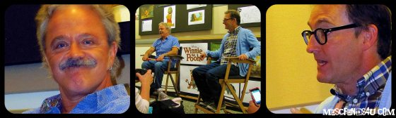 Voice Actors Jim Cummings and Tom Kenny of Disney's Winnie the Pooh