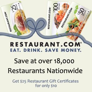 Purchase Restauarant.com Gift Cards and e-Certiicates for the perfect and thoughtful last minute gift